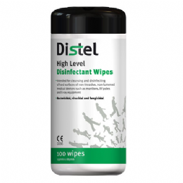 Distel Respirator Disinfectant Wipes
